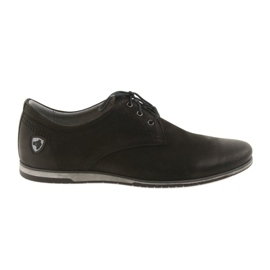Sportovní boty Riko s nízkými podpatky 877 černá