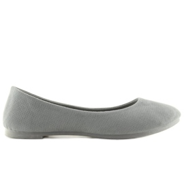 Šedá dámská balerína JX1018 Grey