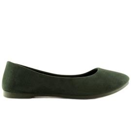 Zelená dámská balerína JX1018 Green