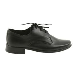 Miko obuv dětské boty obuv černá