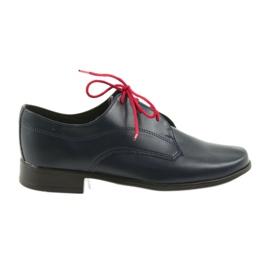 Miko obuv dětská obuv Communion válečné loďstvo