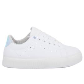 Bílé tenisky LA38P bílé