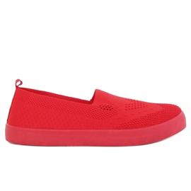 Červené otevřené tenisky JX63P červené červená