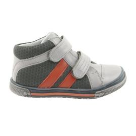 Boote boty na suchý zip Ren But 3225 šedo / oranžový