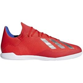 Sálová obuv adidas X 18.3 In M BB9392 červená červená