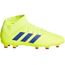 Kopačky adidas Nemeziz 18,3 Fg Jr CM8505