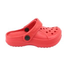 Befado ostatní dětské boty - červené 159X005 červená