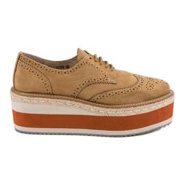 Corina hnědý Módní boty