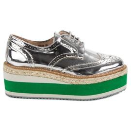 Corina šedá Módní boty