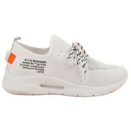 Mckeylor bílá Slip Sport Shoes
