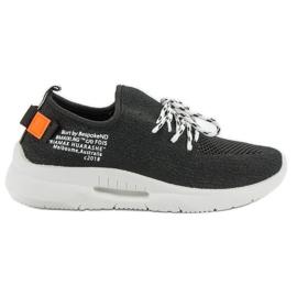 Mckeylor černá Slip Sport Shoes