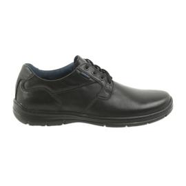 Černá Badura nízké boty pánské pohodlí 3509 černé