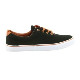 American Club Pánské boty černé tenisky LH03
