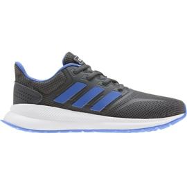 Boty Adidas Runfalcon K Jr EE4670 modrý
