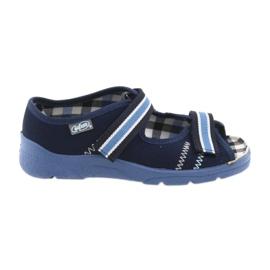 Sandály dětské boty Velcro Befado 969x101 tmavě modrá