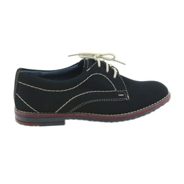 Chlapci boty Gregors 429 tmavě modrá válečné loďstvo
