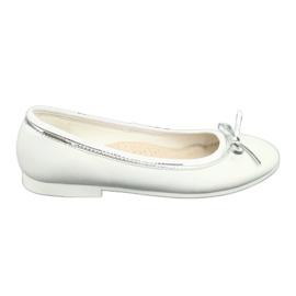 American Club Baleríny s lukem, bílý perlový americký klub GC29 / 19 bílá vícebarevný