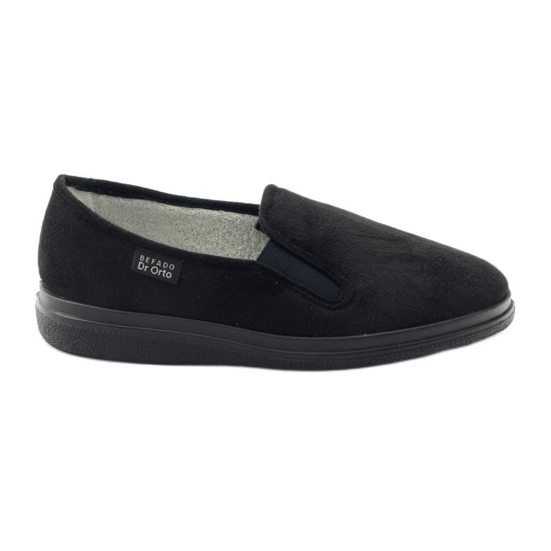 Befado dámské boty pu 991D002 černá