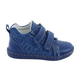 Modrý Dětská zdravotní obuv se suchým zipem Ren But 1429