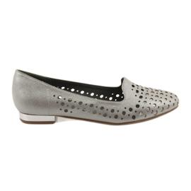 Daszyński hnědý Lordsy stylová dámská obuv 151
