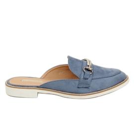 Flip Flops Modrá F9375 Modrá modrý