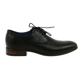 Pánská společenská obuv Nikopol 1695 černá