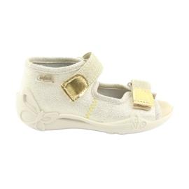 Befado žlutá dětská obuv 342P003