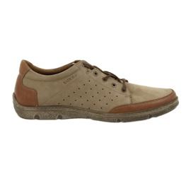 Hnědý Pánské boty Badura 3524 béžová / hnědá
