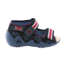 Válečné loďstvo Befado žlutá dětská obuv 350P003