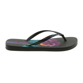 Černá Dámské pantofle voňavé Ipanema 82661 černé