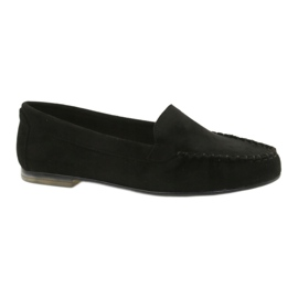 Černá Dámské semišové módy Sergio Leone 721 černé