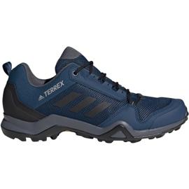 Trekkingová obuv adidas Terrex AX3 M BC0527 modrý