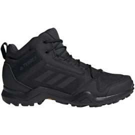 Trekingová obuv adidas Terrex AX3 Mid Gtx Vz M BC0466 černá
