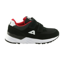 Sportovní obuv kožená vložka American Club BS09 černá
