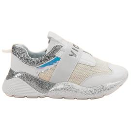 Vices Sportovní boty se šikmým povrchem bílá