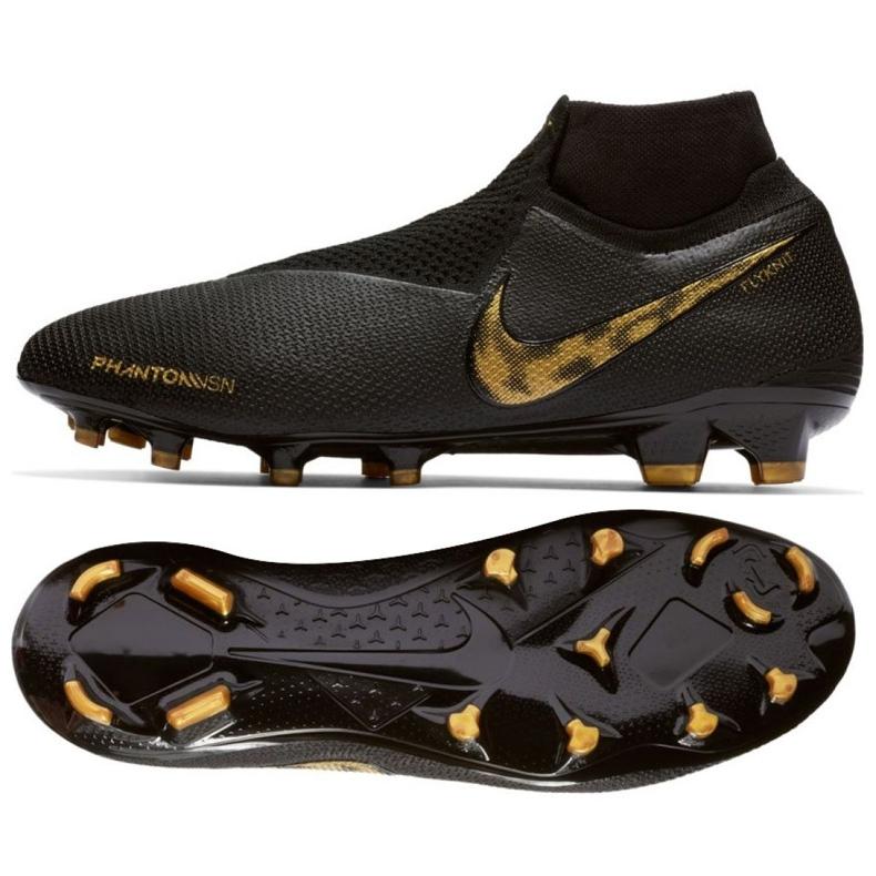 Fotbalová obuv Nike Phantom Vsn Elite Df Fg M AO3262-077 černá černá