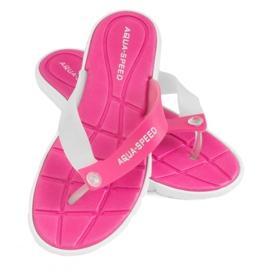 Pantofle Aqua-Speed Bali růžovo-bílá 05 479