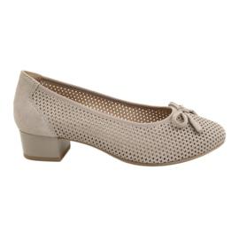 Dámská obuv Caprice 22501 béžová zlatá