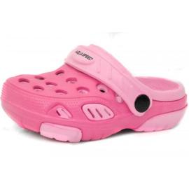 Růžový Pantofle Aqua-speed Lido col 03