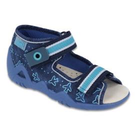 Befado žlutá dětská obuv 350P004