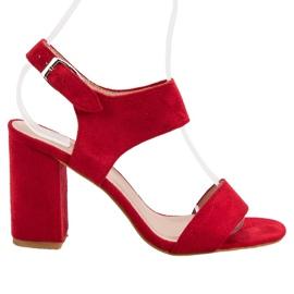 Červená Červené VINCEZA sandály