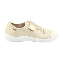 Žlutý Dětská obuv Befado 251X071