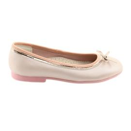 Baleríny s luční růžovou perlou American Club GC14 / 19 růžový zlato
