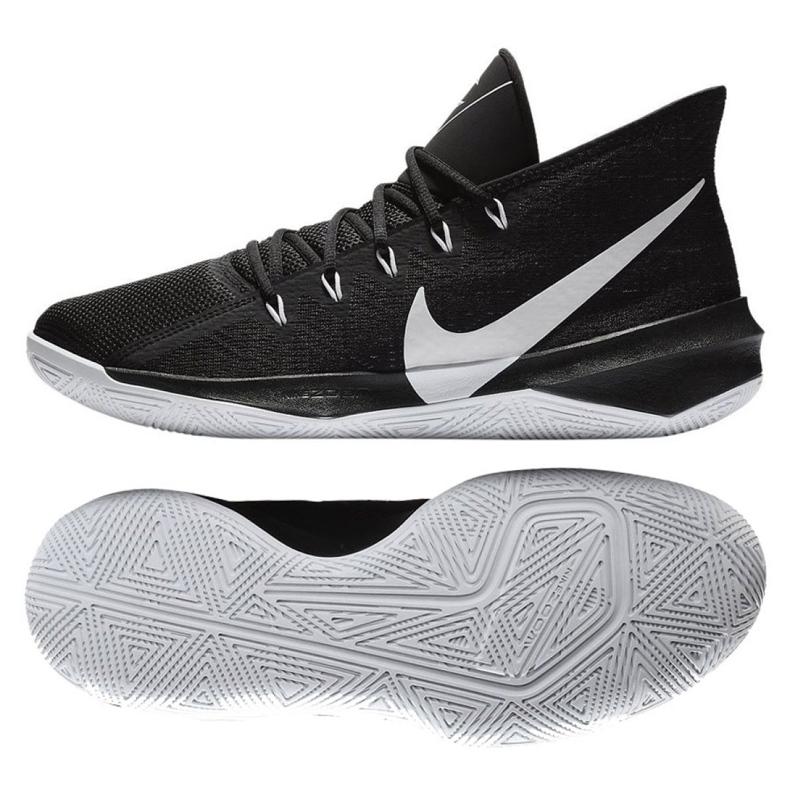 Basketbalové boty Nike Zoom Evidence Iii M AJ5904-002 černá černá