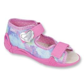 Befado žlutá dětská obuv 342P005