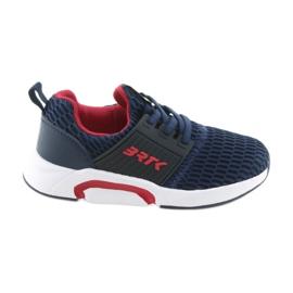 Bartek 58110 Slip-on navy blue sportovní obuv