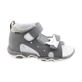 Sandály chlapecké čepice Bartek 51489 šedá