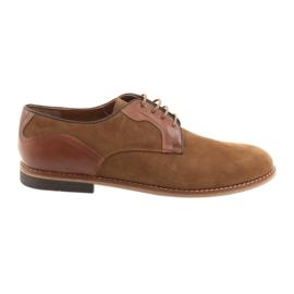 Hnědý Pánská obuv Badura 3687 hnědá