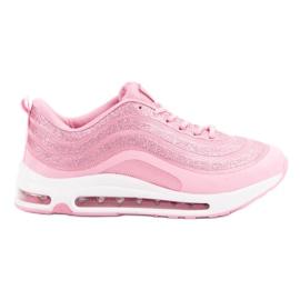 Módní sportovní boty růžový