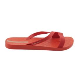 Ipanema Dámské pantofle Grendha 26263 červená